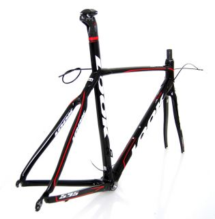 FULL CARBON FIBER ROAD BIKE FRAME SET RACE BICYCLE 53 cm Med Medium M