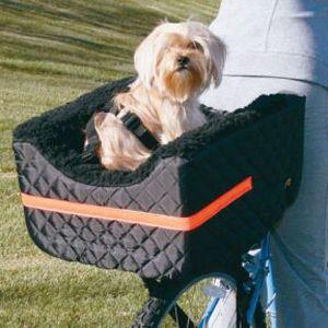 Snoozer Rear Bike Bicycle Rider Pet Dog Basket   Black