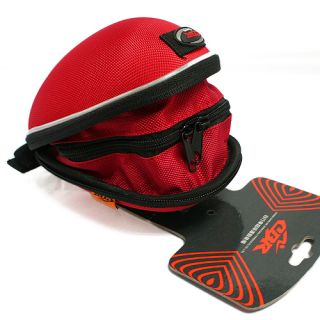 Cycling Bicycle Bike Saddle Outdoor Pouch Seat Bag Case Red Water