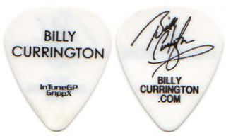 Billy Currington Tour Guitar Pick  country white concert intunegp