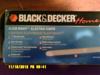 Black and Decker Electric Knife for Carving
