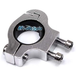 Bike Bicycle Cycling Water Bottle Cage Handlebar Adapter Silver