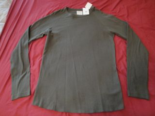 Billy Reid Olive Crewneck Thermal Shirt XXL Mens New