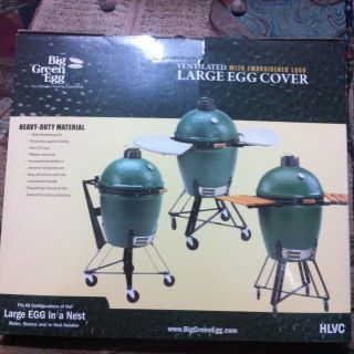 Big Green Egg HLVC Ventilated with Embroidered Logo Large Egg Cover