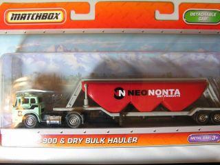 Matchbox Super Convoy Big Rig Ford C 900 Dry Bulk Hauler Turquoise