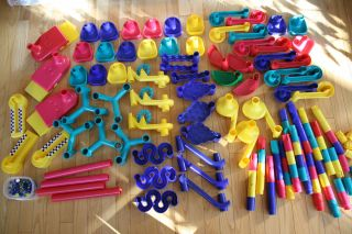 Discovery Toys Marbleworks Marble Run Big Lot 140 PC