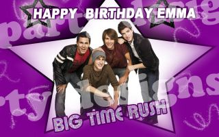 Big Time Rush 2 Edible Cake Image Topper