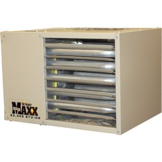 Big Maxx Propane Garage Workshop Heater 80K BTU MHU80LP
