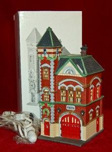 in the city red birck fire station introduced in 1987 christmas in