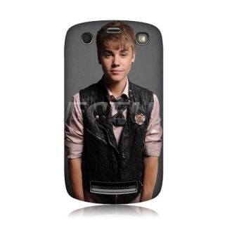 Justin Bieber Back Case Cover for Blackberry Curve 9360