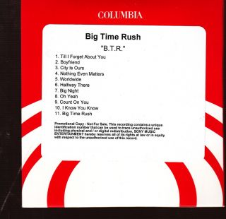 Big Time Rush Limited Edition CD