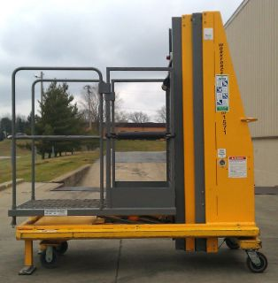 BIL JAX WORKFORCE XLT 1571 Aerial Man Lift Order Stock Picker Scissor