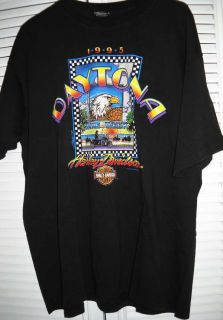 Daytona Beach FL 1995 Bike Week SS Shirt Sz XL 100 Cotton