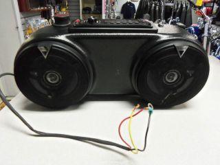 Pioneer Motorcycle Windshield Radio CD Player
