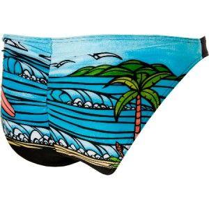 New Rip Curl Bikini Bottom Large Sunset Beach Classic Pant Heather