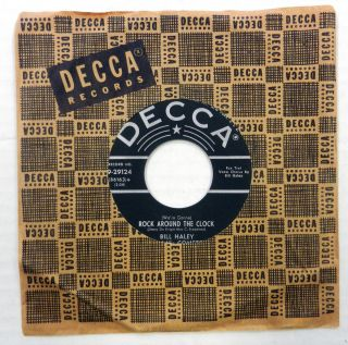 BILL HALEY HIS COMETS 45 Rock Around the Clock Thirteen Women DECCA