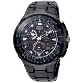 PROMASTER ECO DRIVE SKYHAWK BLACK EAGLE WATCH JR3155 54E JR3156 51E