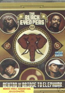 DVD The Black Eyed Peas Behind The Bridge to Elephunk