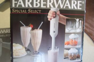 Farberware Stick Blender 2 Speed with All Accessories