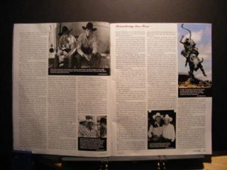 Lane Frost Prorodeo Sports News August 7 2009