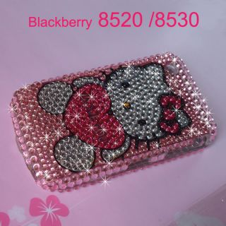Bling Crystal Diamond Hard Case Cover for BlackBerry Cure 8520 8530
