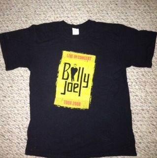 Billy Joel Concert Tour T Shirt Size Medium Tour 2008