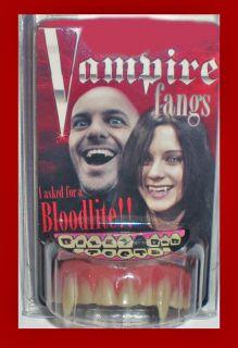 Billy Bob Vampire Fangs Teeth Custom Fit See Video