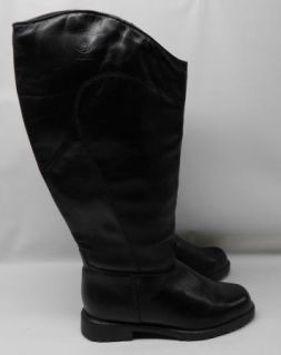 Blondo Black Knee High Leather Boots Women 7 D Canada
