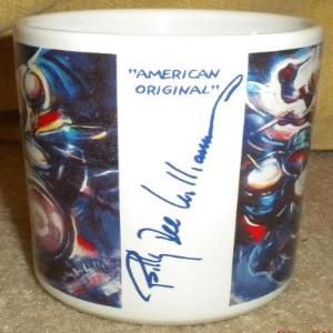 Billy Dee Williams Art Coffee Jazz Musicians Mugs Limited Collection