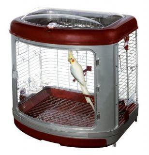 Super Pet Habitat Defined Bird Cage Cockatiel Enrichment Home with