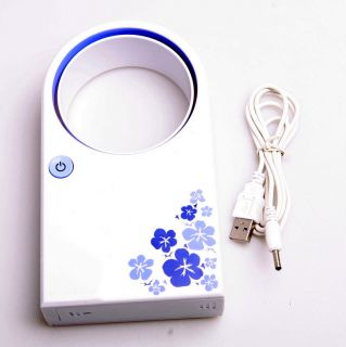Mini Desktop Bladeless Air Conditioner Fan No Leaf Air Condition Fans