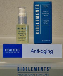Bioelements Professional Skin Care Probiotic Anti Aging Serum MSRP $66