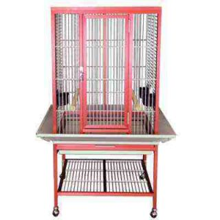 Aluminum Parrot Cage ACF2522 Cages Bird Toy Toys Conure Caique