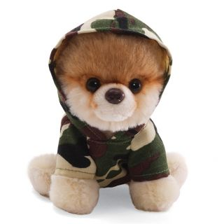 New Authentic Stuffed 5 Itty Bitty Boo 002 Camouflage by Gund