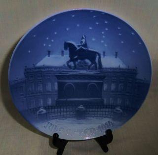 Bing Grondahl Christmas Plate 1914