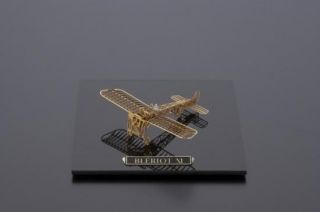 160 Bleriot XI Brass Micro Wing Series Model Kit Airplane Japan New