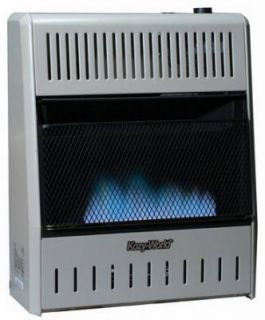 Kozy World GWD208 20 000 BTU Blue Flame Gas Wall Heater