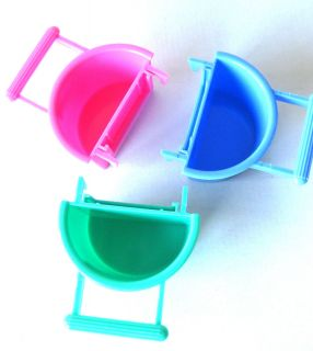 BIRD TOY FEEDER WATER CUP cockatiel parakeet finch toys canary cage