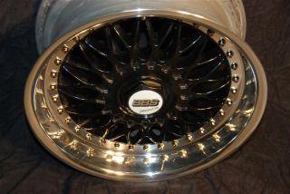 Black BBs RC 8 9x17 BMW Styling 5 Rims Mirror Polished