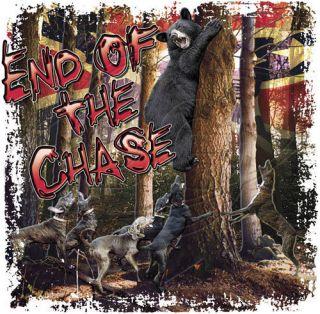 Dixie Rebel Dogs New TREEING Plott Hound Hunter Black Bear