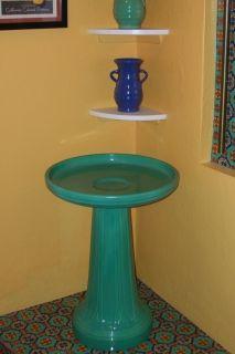 RARE Vintage Garden City Pottery Bird Bath Birdbath Garden ware