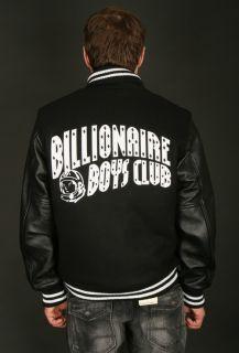 Billionaire Boys Club Mens Classic Varsity Jacket Black B0012X203 001
