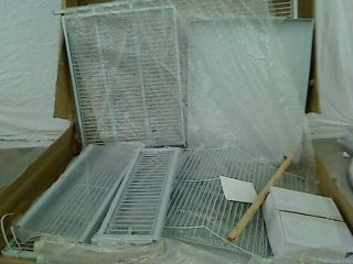 Prevue Pet Products Medium Royalty Bird Cage 3172W Pewter Hammertone