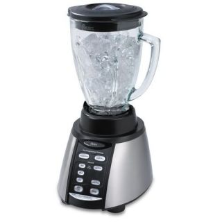 Oster BVCB07 Z 6 Cup Glass Jar 7 Speed Blender, Stainless Steel