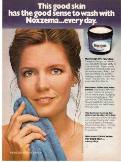1981 Noxzema Meredith Baxter Birney Photo Print Ad