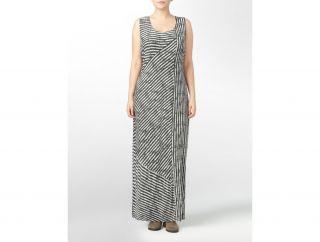 Calvin Klein Woman Striped Tank Maxi Dress