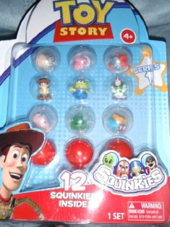 Blip Disney Pixar Toy Story Squinkies 12 Pack Series 1