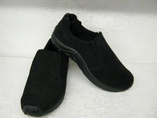 Down to Earth F8655 Black Suede Leather Casual Shoes