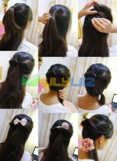 Be Creative! Start making Chic hair styles with your own ideas!