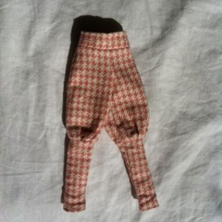 Blythe J Loves B Checkered Pink Pants Perfect Condition Doll Clothes